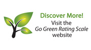 Go Green Rating Scale banner