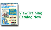View the training catalog for early childhood professionals online