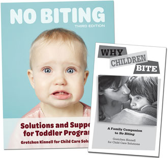 No Biting and Why Children Bite Set
