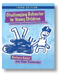 Challenging Behavior in Young Children, 3rd Edition