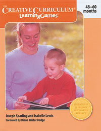 Creative Curriculum Learning Games 48-60 months