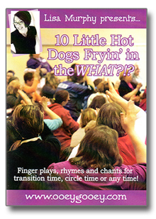 10 Little Hot Dogs Frying in the WHAT? DVD