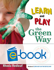 Learn and Play the Green Way (e-book): Fun Activities with Reusable Materials
