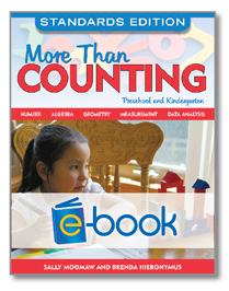 More Than Counting, Standards Edition (e-book): Math Activities for Preschool and Kindergarten
