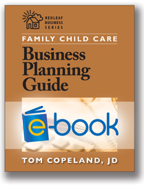 Family Child Care Business Planning Guide (e-book)