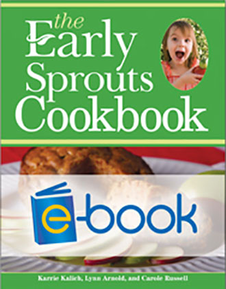 Early Sprouts Cookbook (e-book)