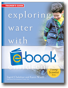 Exploring Water with Young Children Trainer's Guide (e-book )