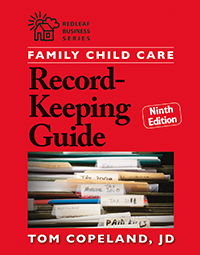 Family Child Care Record Keeping Guide, 9th Edition