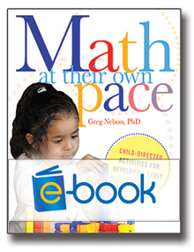 Math at Their Own Pace (e-book): Child-Directed Activities for Developing Early Number Sense