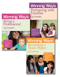 Winning Ways for Early Childhood Professionals - Set of 3