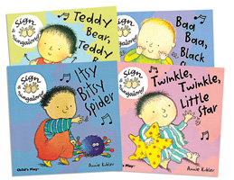 Sign and Singalong - Set of 4 Board Books