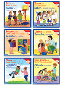 Learning to Get Along Bilingual (set of 4)