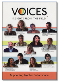 Voices: Insights from the Field - Supporting Teacher Performance