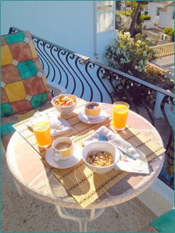 Image of the author Steffen Saifer's sample breakfast in Spain