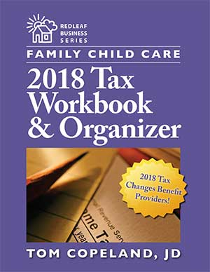 Family Child Care 2018 Tax Workbook & Organizer