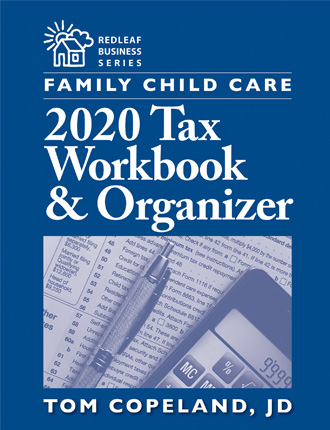 Family Child Care 2020 Tax Workbook & Organizer
