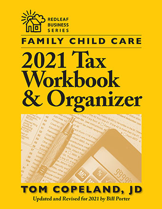 Family Child Care 2021 Tax Workbook & Organizer