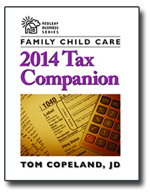 Family Child Care 2014 Tax Companion