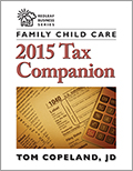 Family Child Care 2015 Tax Companion