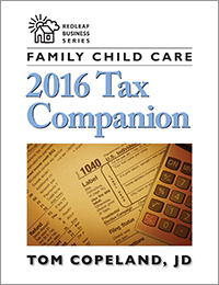 Family Child Care 2016 Tax Companion