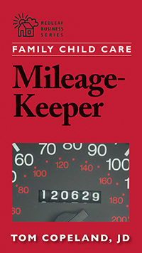 family child care mileage keeper the complete mileage log