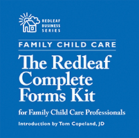 Redleaf Complete Forms Kit for Family Child Care Providers CD ROM