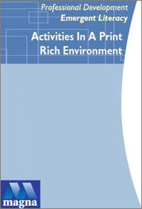Emergent Literacy Series: Activities in a Print Rich Environment DVD
