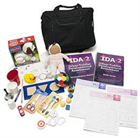 Infant-Toddler Developmental Assessment 2nd Edition (IDA-2) Complete Kit with Manipulatives and Carrying Case