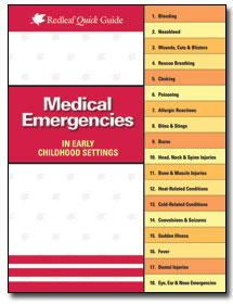 Medical Emergencies in Early Childhood Settings