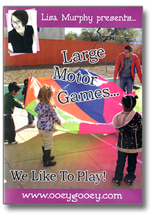 Large Motor Games We Like To Play Dvd