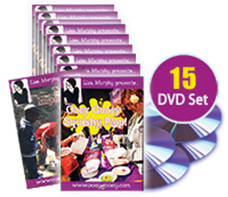 Ooey Gooey DVD Set