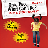 One, Two, What Can I Do? Music CD