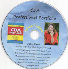 CDA Prep Guide DVD for Center-Based Infant/Toddler