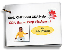 CDA Exam Prep Flashcards - Infant and Toddler