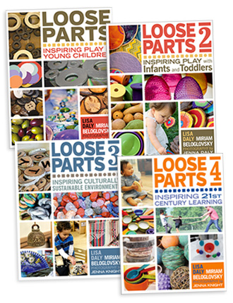 Loose Parts Set [4 books]