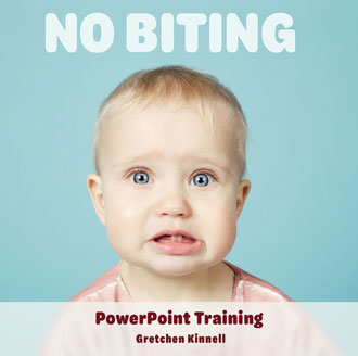 No Biting PowerPoint Training (CD-ROM)