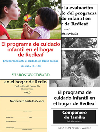 Redleaf Family Child Care Curriculum Complete Set (SPANISH translation)