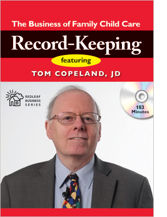 Family Child Care Record-Keeping Training DVD
