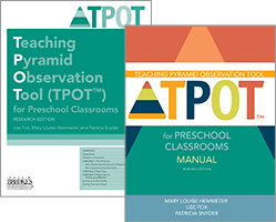 TPOT for Preschool Classrooms Set