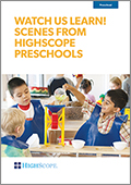 Watch us Learn! (DVD): Scenes from HighScope Preschools