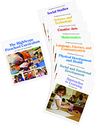 Highscope Preschool Curriculum [9 book set]