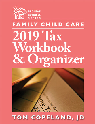 Family Child Care 2019 Tax Workbook & Organizer