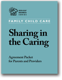Sharing in the Caring, [10 sets]: Family Day Care Parent-Provider Agreement Packet