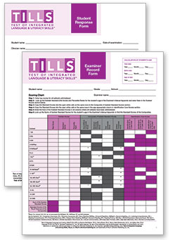 Test of Integrated Language and Literacy Skills Forms Set