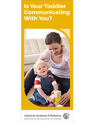 Is Your Toddler Communicating With You? Brochure - 50/pk