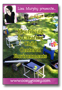 Identifying & Creating Child Centered Environments DVD
