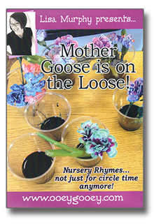 Mother Goose is on the Loose! DVD