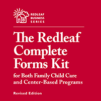 Redleaf Complete Forms Kit for Both Family Child Care and Center-Based Programs, Revised Edition