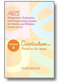 Assessment, Evaluation, and Programming System (AEPS) Curriculum for Three to Six Years