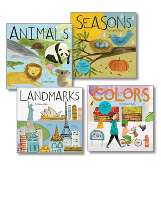 Discovery Concepts Board Books Set